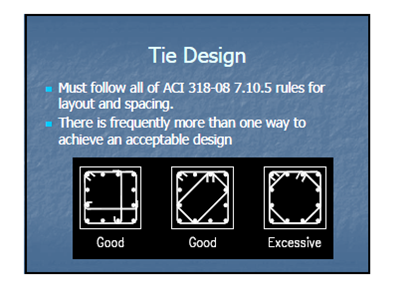 Tie Design Standards