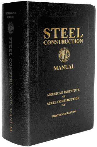 STEEL CONSTRUCTION MANUAL-13TH edition 2005